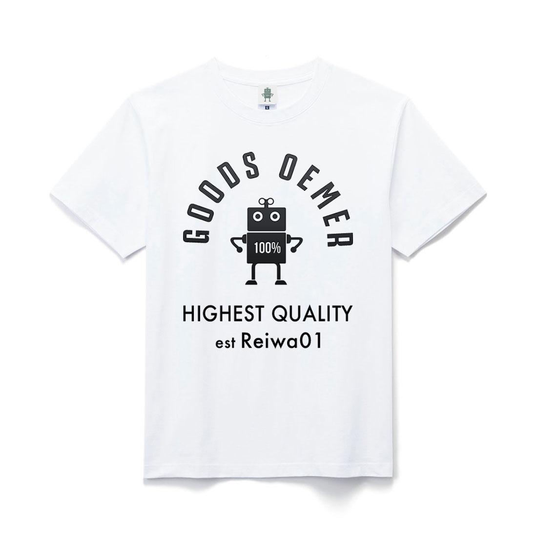 ヘヴィーコットン Tシャツ ホワイト