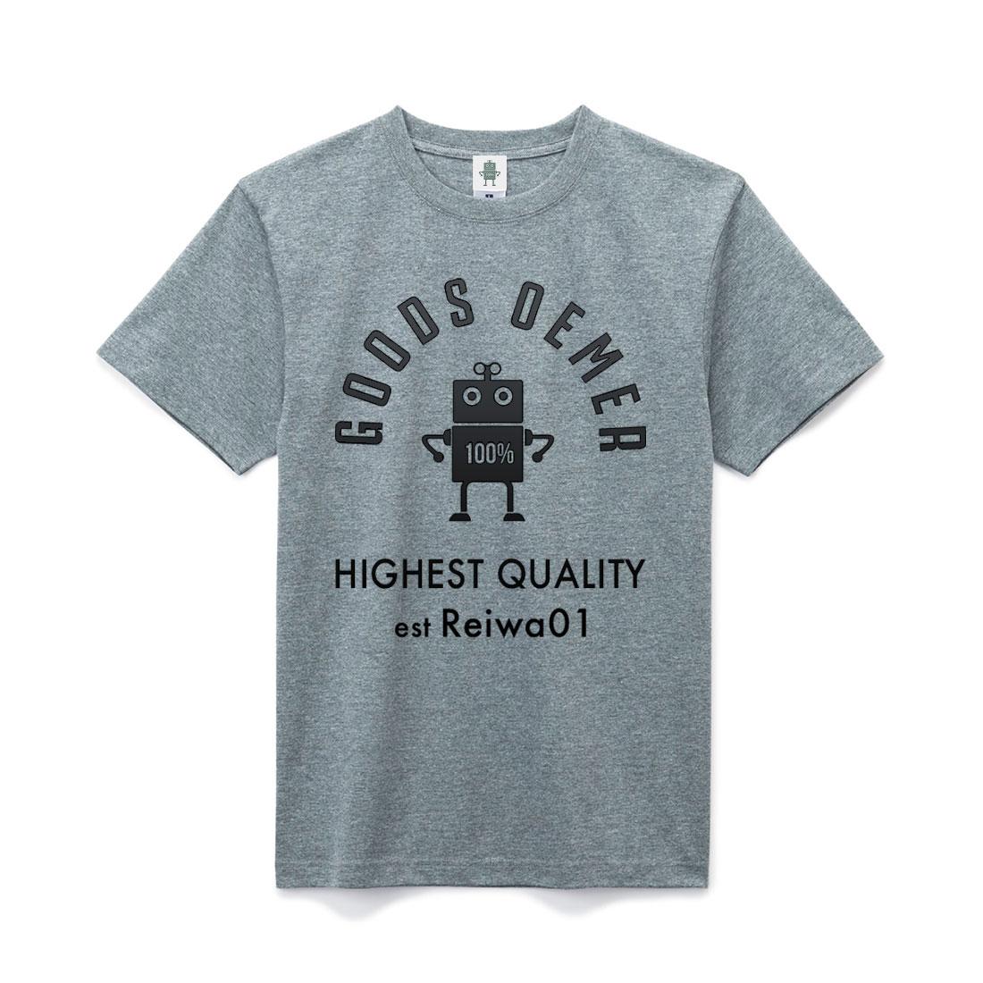 ヘヴィーコットン Tシャツ グレー