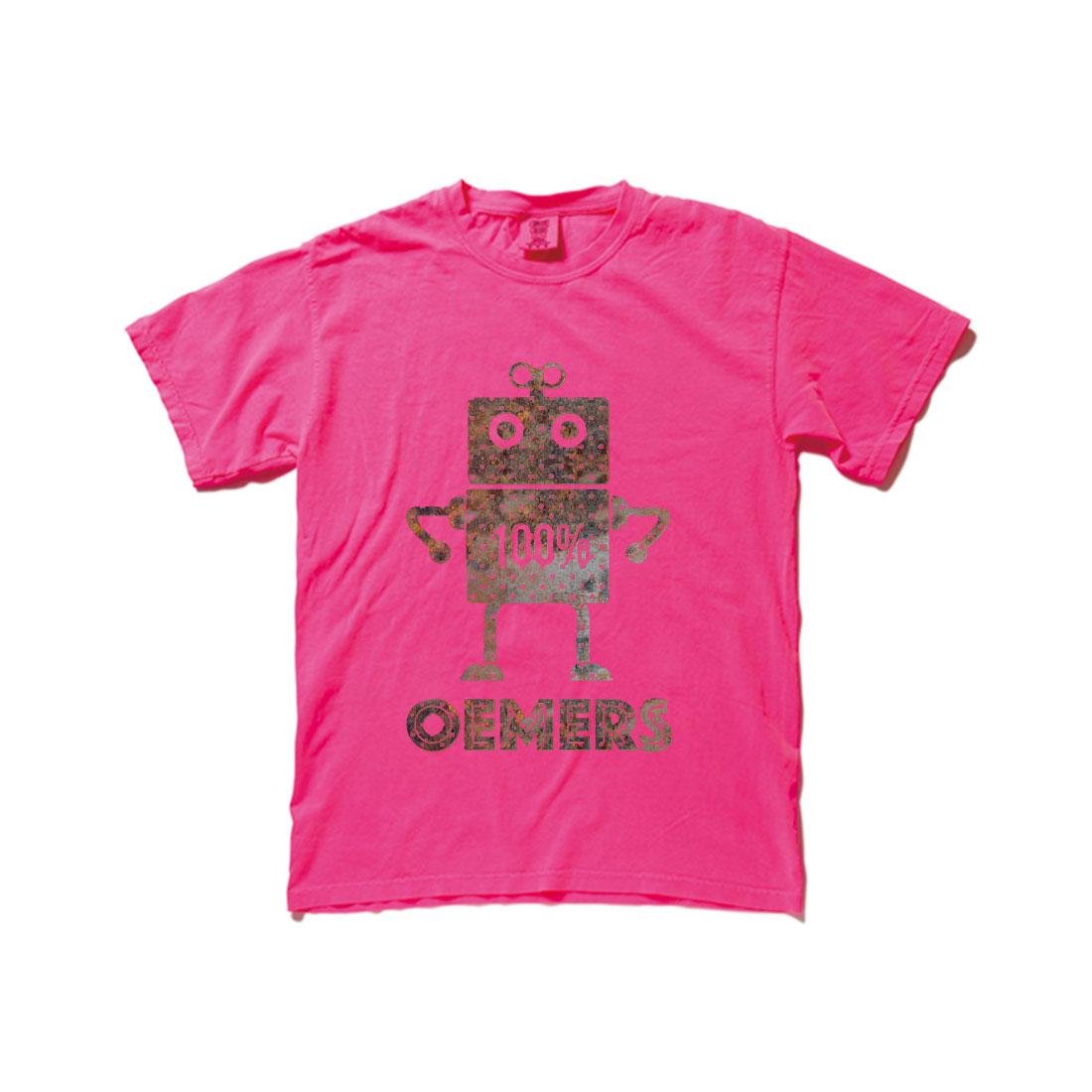 ヴィンテージTシャツ ショッキングピンク