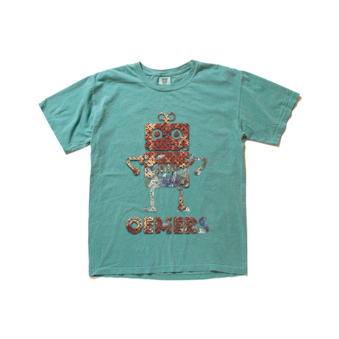 ヴィンテージTシャツ エメラルドグリーン