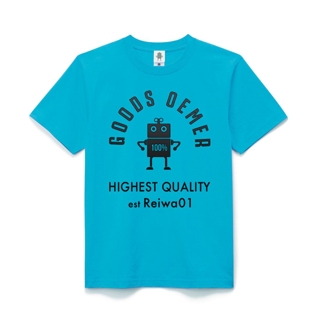 ヘヴィーコットン Tシャツ ターコイズ