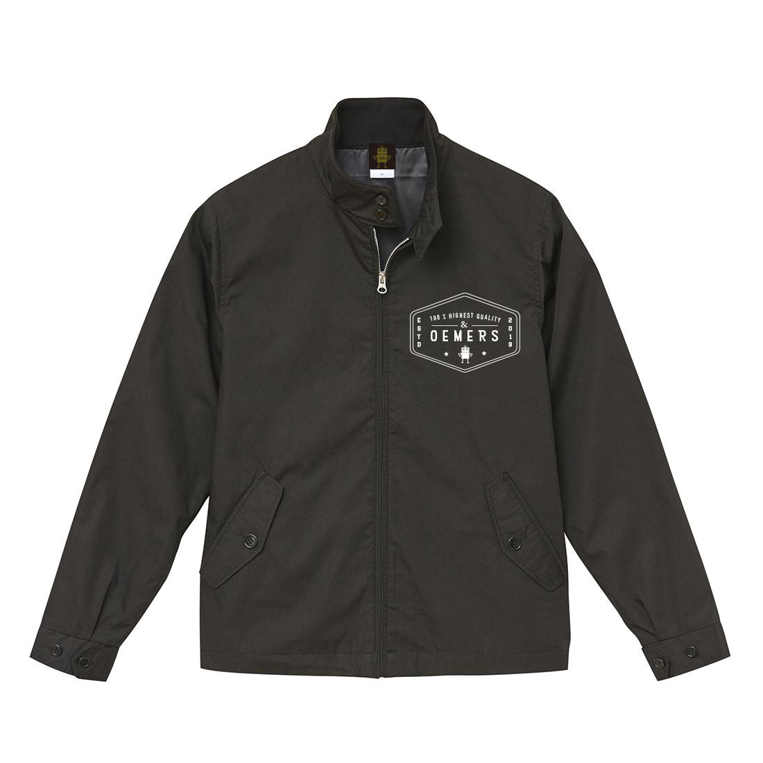 スイングトップ ジャケット ブラック