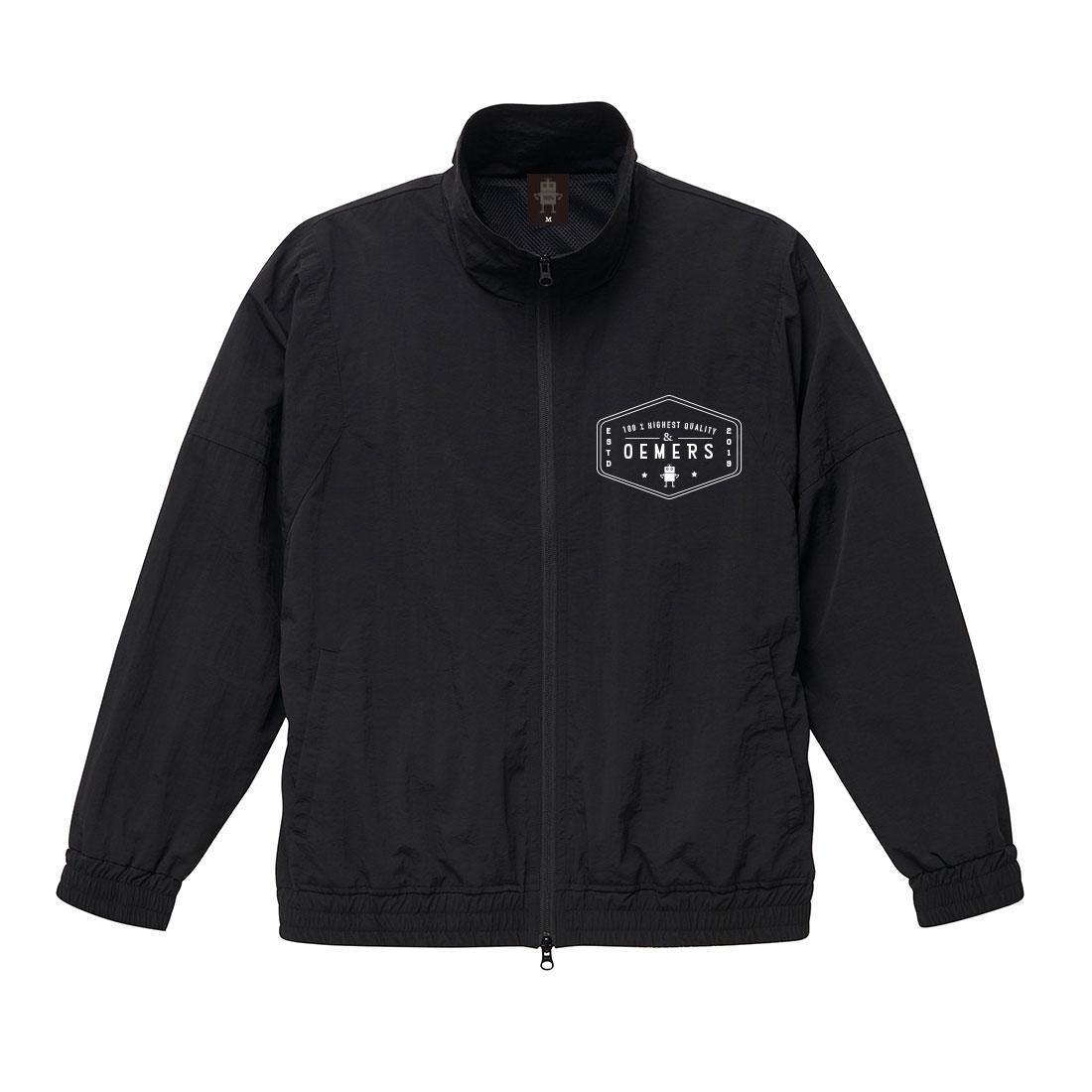 トラックジャケット ブラック