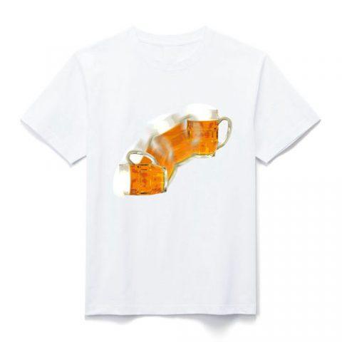 ビール デザイン Tシャツ