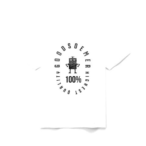 ブランドロゴ デザイン Tシャツ