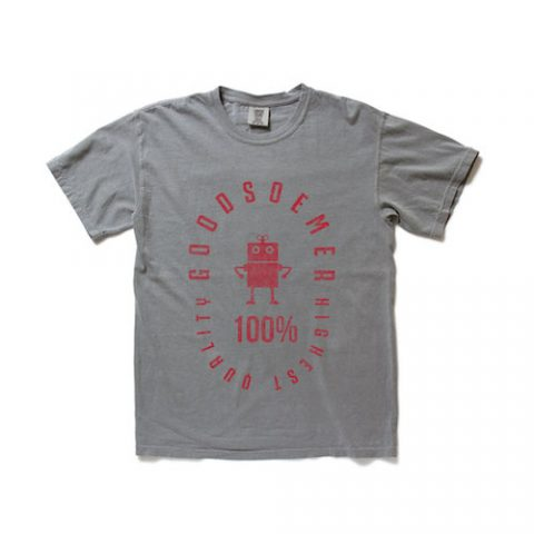 ビンテージTシャツ グレー デザイン