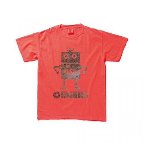ビンテージTシャツ レッド デザイン