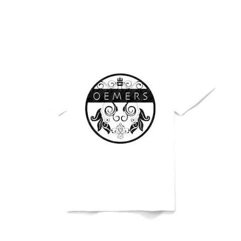 Tシャツ 木目ロゴ