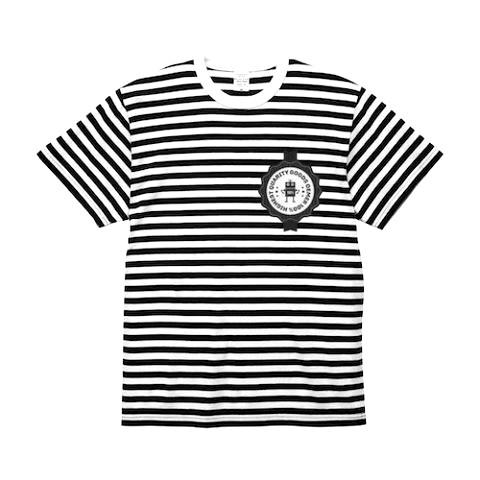ボーダー Tシャツ ブラック