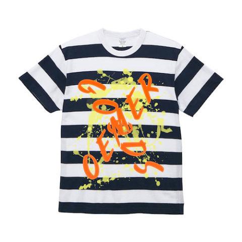 ボーダー Tシャツ ネイビー