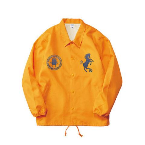 コーチジャケット オレンジ