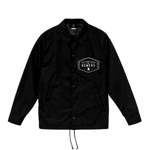 コーチジャケット ブラック