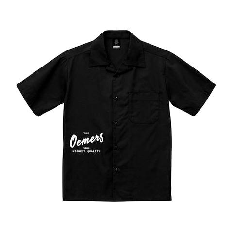 ワークシャツ ブラック デザイン