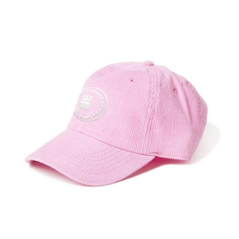 コーデュロイキャップ ピンク
