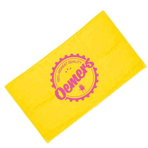 バスタオル 黄色