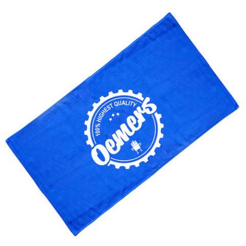 バスタオル ブルー