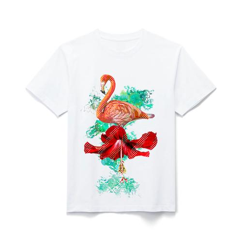 フラミンゴ Tシャツ